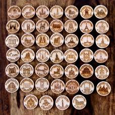 Pocztówki z Europy - seria 46 szt.
